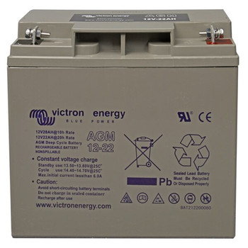Victron Energy AGM Deep Cycle Battery - 12V (22Ah)