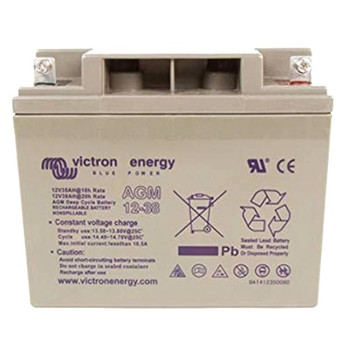 Victron Energy AGM Deep Cycle Battery - 12V (38Ah)