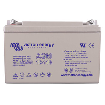 Victron Energy AGM Deep Cycle Battery - 12V (110Ah)