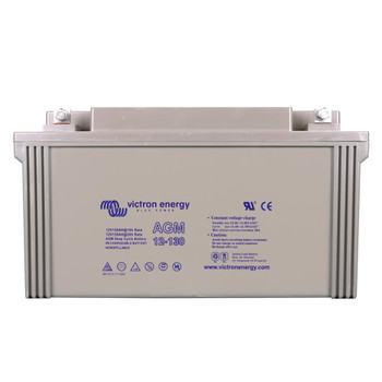 Victron Energy AGM Deep Cycle Battery - 12V (130Ah)