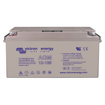 Victron Energy AGM Deep Cycle Battery - 12V (165Ah) - Front View