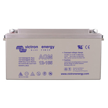 Victron Energy AGM Deep Cycle Battery - 12V (165Ah)