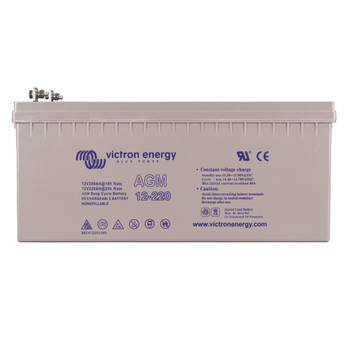 Victron Energy AGM Deep Cycle Battery - 12V (220Ah)