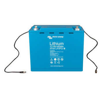 Victron Energy LiFePO4 Lithium Battery Smart -  12.8V/60Ah - Front View