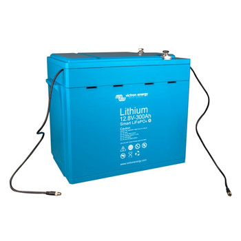 Victron Energy LiFePO4 Lithium Battery Smart -  12.8V/300Ah - Side View