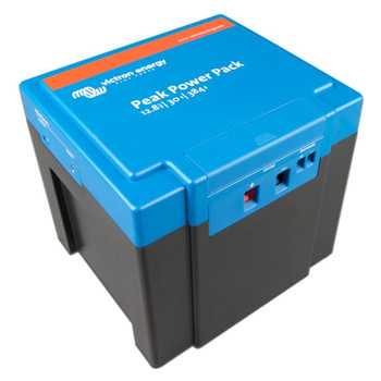Victron Energy Peak Power Pack -  12.8V/30Ah (384Wh) - Side View