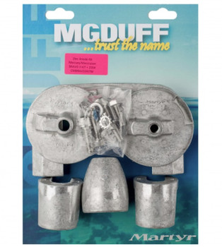 MG Duff Martyr Anode Kit for Mercury / Mercruiser Bravo 3 Engines (2003+) - Magnesium
