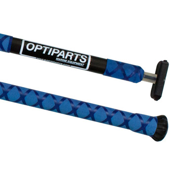 Optiparts Optimist Tiller Extension - X-Gripped - Blue - 20mm