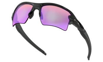 Oakley Flak 2.0 XL Sunglasses - Polished Black / Prizm Golf Polarized Lower Angle