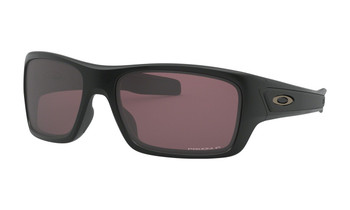 Oakley Turbine XS (Youth Fit) - Matte Black / Prizm Daily Polarized Angled