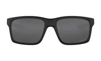 Oakley Mainlink XL Sunglasses - Matte Black / Prizm Black Polarised Front
