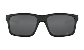 Oakley Mainlink XL Sunglasses - Matte Black / Prizm Black Polarised Front