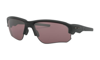 Oakley Flak Draft Sunglasses - Matte Black / Prizm Daily Polarised Angled