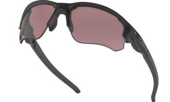 Oakley Flak Draft Sunglasses - Matte Black / Prizm Daily Polarised Lower Angle