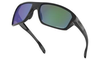 Oakley Split Shot Sunglasses - Polished Black / Prizm Shallow Water Polarised Lower Angle