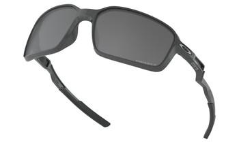 Oakley Siphon Sunglasses - Scenic Grey / Prizm Black Polarised Low Angled