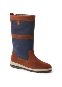 Dubarry Ultima Sailing Boots - Navy /Brown