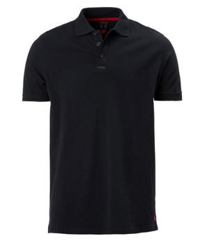 Musto Pique Polo  Short Sleeved Shirt - Mens Black