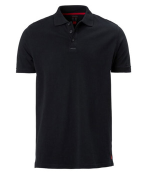 Musto Pique Polo  Short Sleeved Shirt - Mens Black