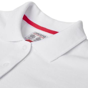 Musto Cork 300 Pique Polo Shirt - Womens collar detial