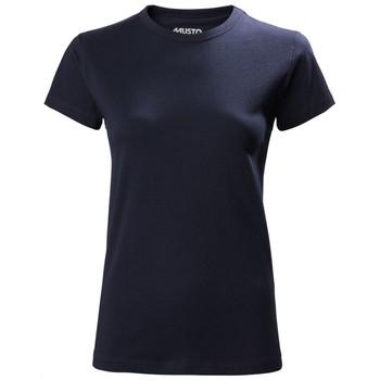 Musto Cork 300 Favourite T- Shirt - Women's - Navy