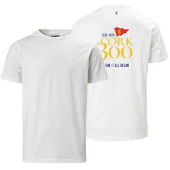 Musto Cork 300 Favourite Men's T- Shirt in white