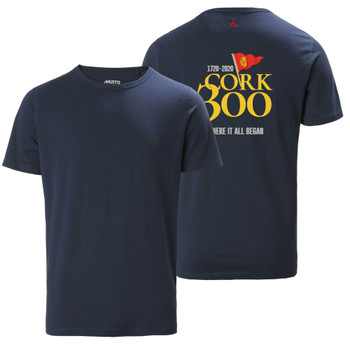 Musto Cork 300 Favourite Men's Navy T- Shirt