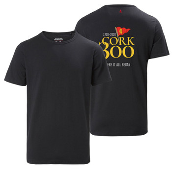 Musto Cork 300 Favourite Men's Black T- Shirt