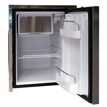 Isotherm Cruise Inox Clean Touch 42L boat fridge - open