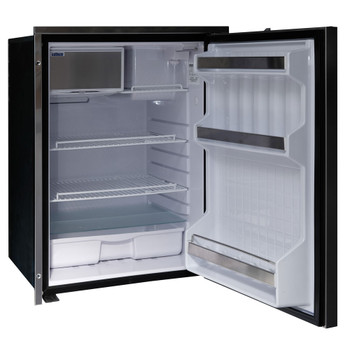 Isotherm Cruise INOX CT 130L boat fridge - CR130 INOX CT - open