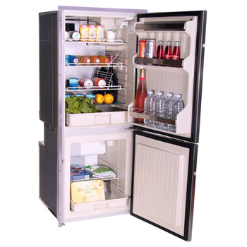 Isotherm CR195INOX boat fridge freezer - open
