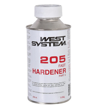 West System 205  Fast Hardener  200ml
