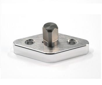 Diamond-shape holder for wakeboard rack