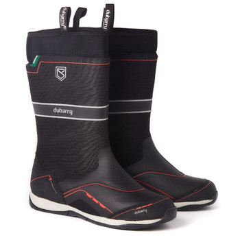 Dubarry Fastnet Sailing Boot - black