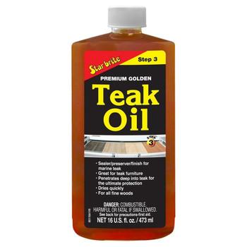 Starbrite Premium Golden Teak Oil Step 3 500ml