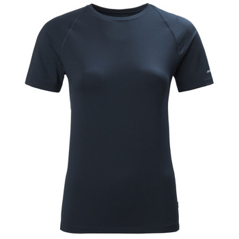 Musto Women Sunblock SS Tee Shirt - True Navy