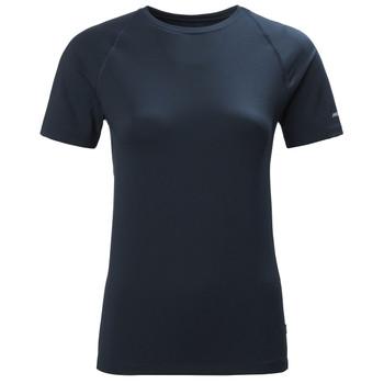 Musto Women Sunblock SS Tee Shirt - True Navy