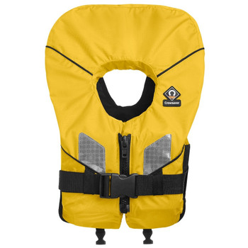 Crewsaver Spiral 100N Foam Childrens  Lifejacket - Yellow