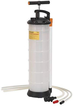 Monsuc Oil Extractor Pump and Bottle - 4 ltr