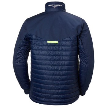 Helly Hansen Aker Insulated Jacket - Midnight Blue  - back