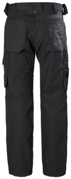 Helly Hansen Work Pant Black- back