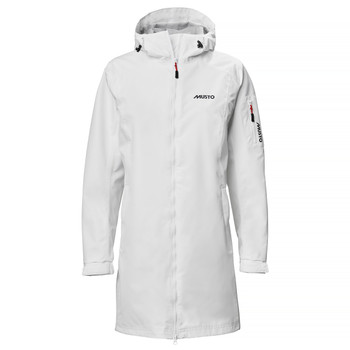 Sardinia Long Rain Jacket Women - White