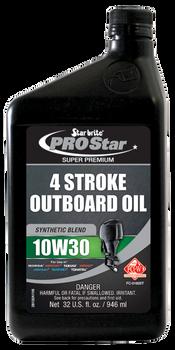 Starbrite Super Premium Synthetic Blend 4-Stroke Oil 10W 30