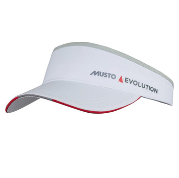 Musto Evolution Race Visor - White