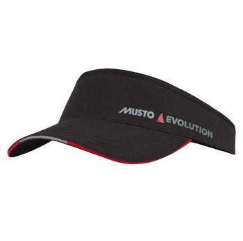 Musto Evolution Race Visor - Black