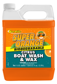 Starbrite Super Orange Citrus Boat Wash & Wax 3.79L