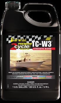 Starbrite Premium 2-Cycle Engine Oil TC-W3 Gallon