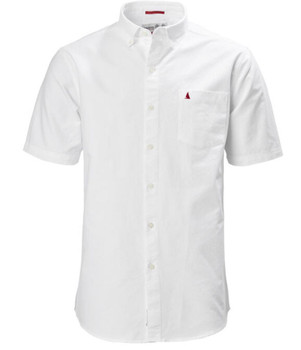 Musto Aiden Short Sleeve Oxford Shirt - White