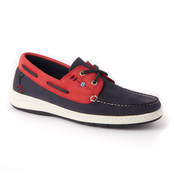 Musto Florida Deck shoes - Red / Navy