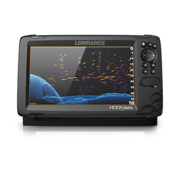 Lowrance HOOK Reveal 9 Fishfinder Tripleshot ROW - front